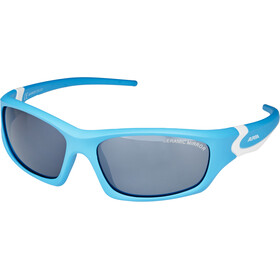 Alpina Flexxy Teen Glasses Kids cyan-white